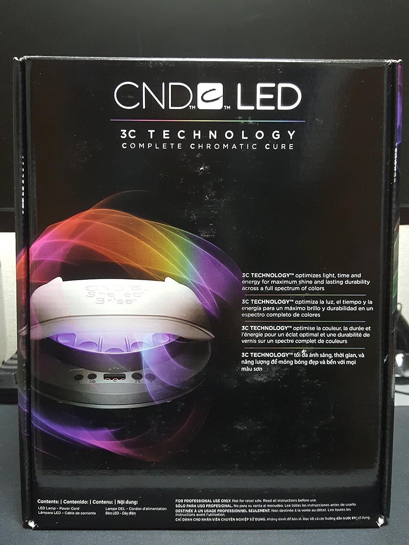 CND LED Nail Lamp Light Gel Shellac 110-240V [並行輸入品] B01M4N7N72