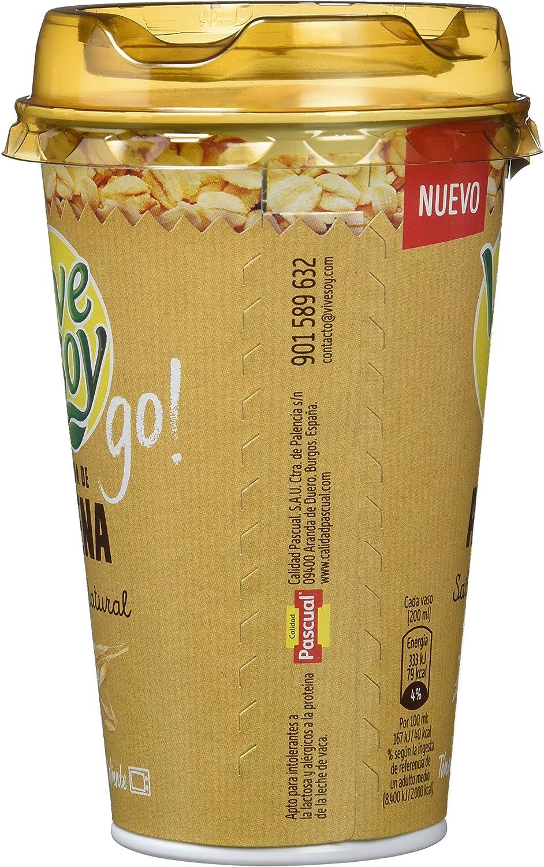 Vivesoy Go - Bebida de Avena - 200 ml: Amazon.es ...