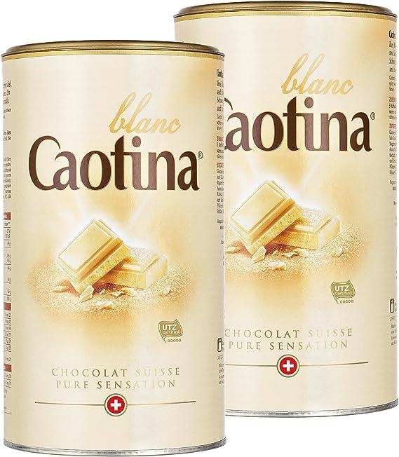 Caotina blanc, Cacao en Polvo de Chocolate Blanco Suizo, Bebida ...