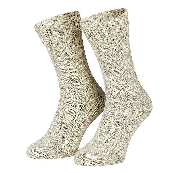 Piarini - Par de calcetines para traje tradicional - Punto ...