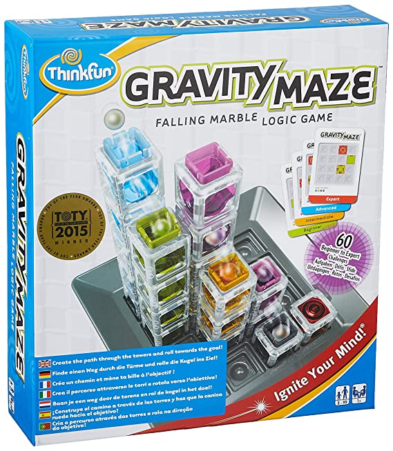 Amazon.com: ThinkFun Sink Think fun Gravity Maze Wrenching ...