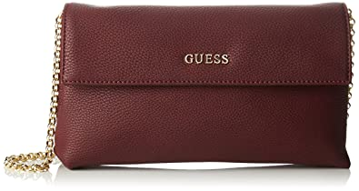Damen Hwtulip7226 Shopper, Violett (Wine), 14x22.5x34 cm Guess