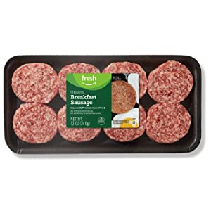 Fresh Brand – Original Breakfast Sausage Patties, 12 oz