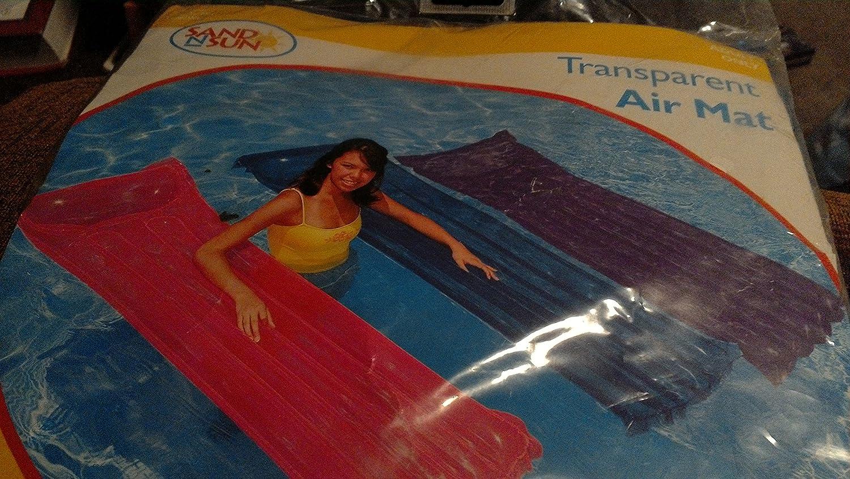 Amazon.com: Transparente Púrpura Air Mat piscina 59702 WL ...