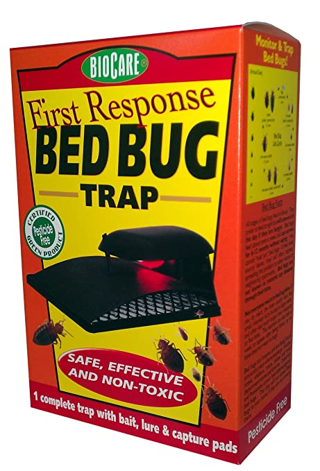 Amazon Com Biocare Bed Bug Trap Reusable Insect Traps Garden