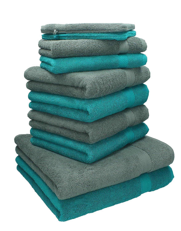 Lot de 3 serviettes /à capuche pour b/éb/é 100/% coton avec capuche Rose clair