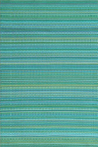 Mad Mats FM-MIX58-TR1 Outdoor Indoor Plastic Mat Mix 5 X 8 , Tropical