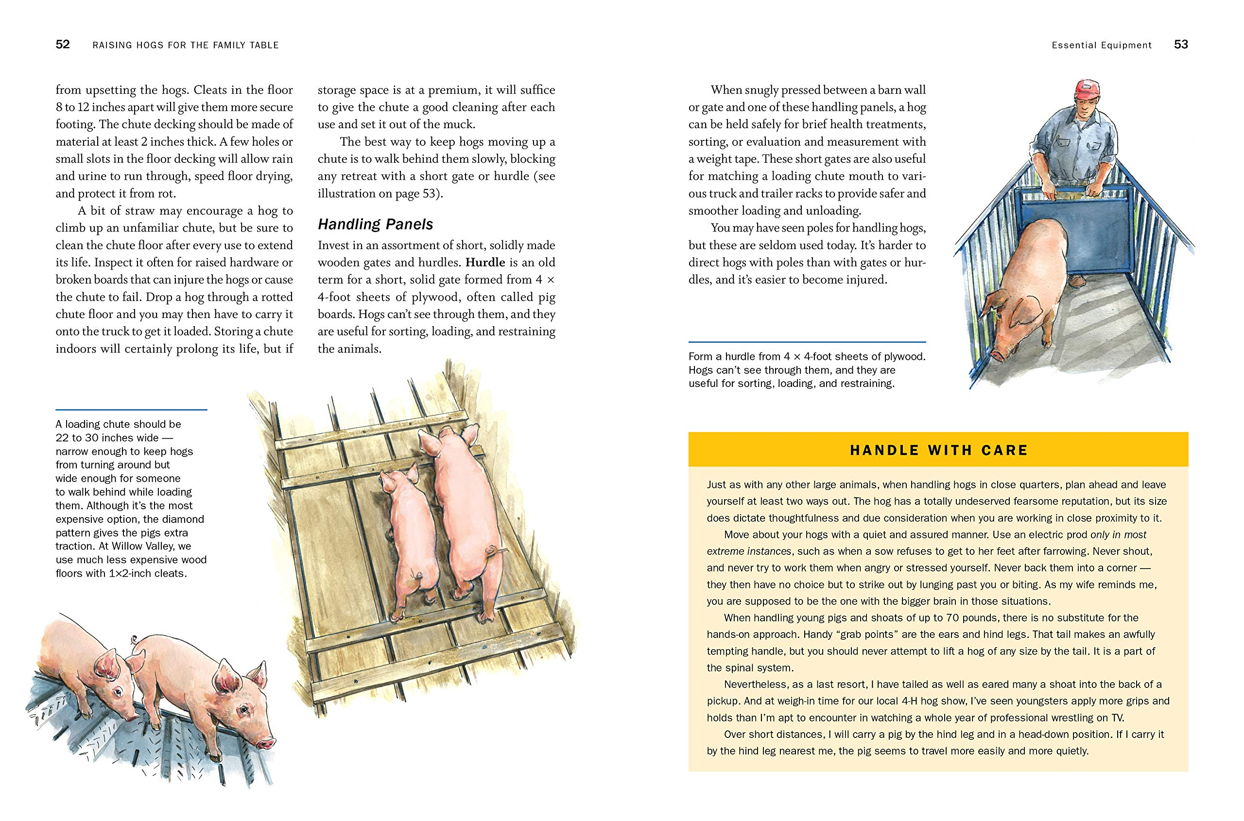storey's guide to raising pigs, 4th edition: care, facilities, management,  breeds: kelly klober: 9781635860429: amazon com: books
