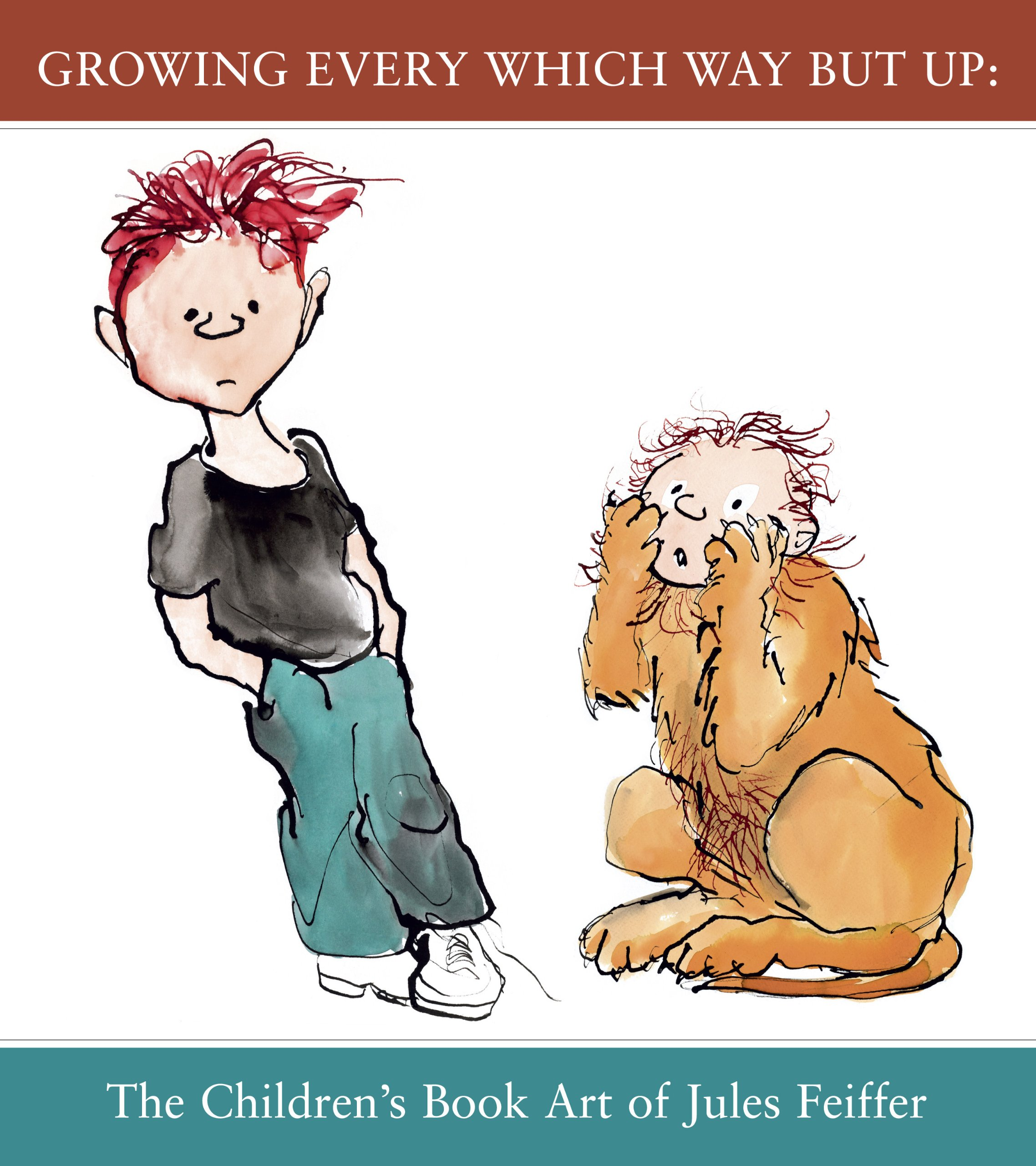 Download Growing Every Which Way But Up: The Children's Book Art of Jules Feiffer pdf