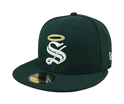 4bbab40beee39 NEW ERA 59Fifty Hat Santos Laguna Soccer Club Mexican League Green Fitted  CA (6 7