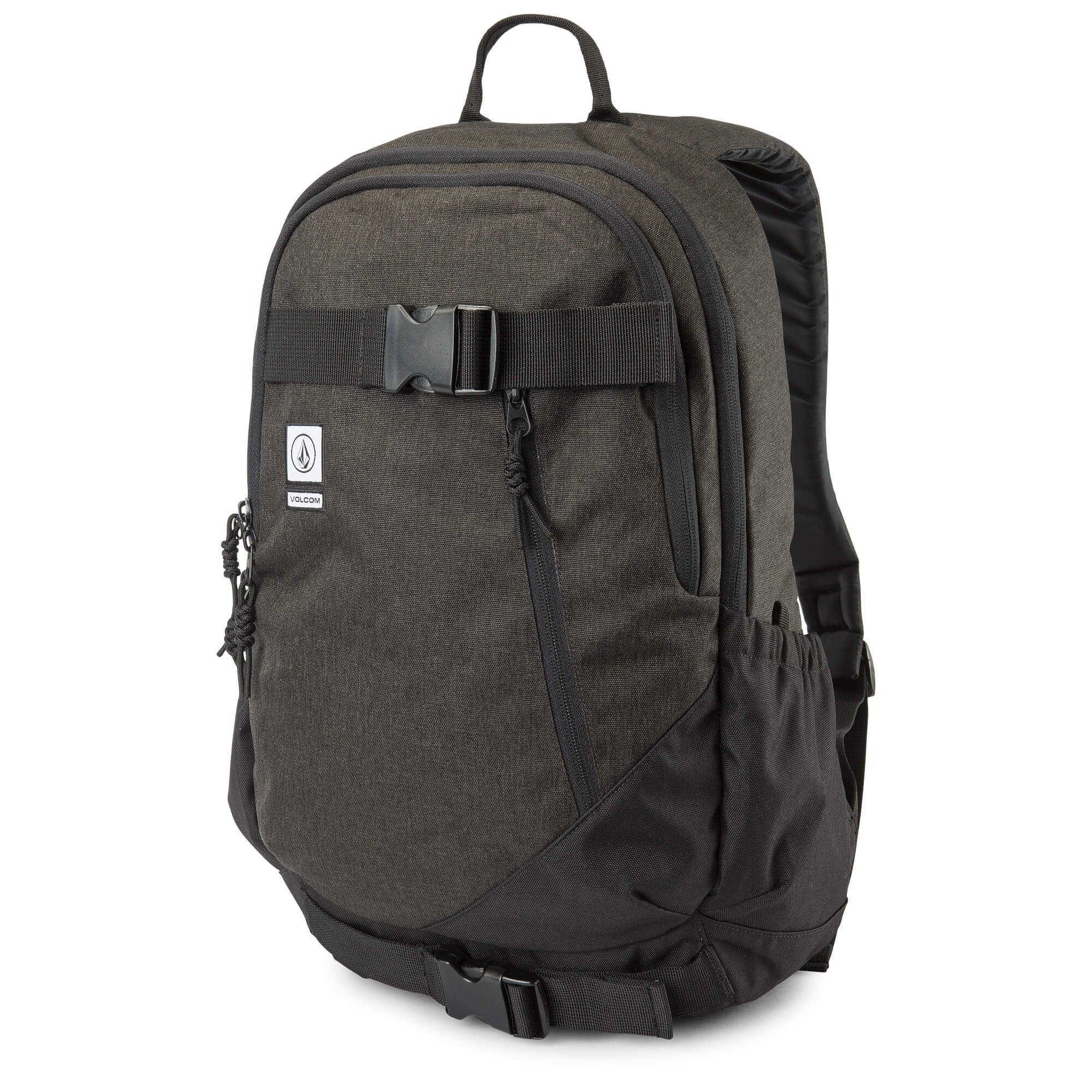 Volcom Men's Substrate Backpack, new black, One Size Fits All
