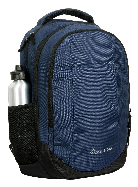"POLESTAR""Noble Blue 32 Ltrs Casual backpack/School Bag/Laptop Backpack"