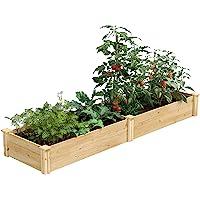 Greenes Fence 2 Ft. X 8 Ft. X 10.5 In Raised Garden Kit, Cedar