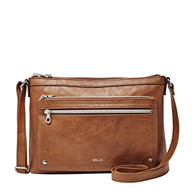 da49758389e4 Image Unavailable. Image not available for. Color: Relic by Fossil Women's  Evie Crossbody Handbag Purse ...