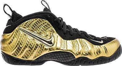 Nike Air Foamposite Pro Men Metallic Gold Black White 624041-701 (9)