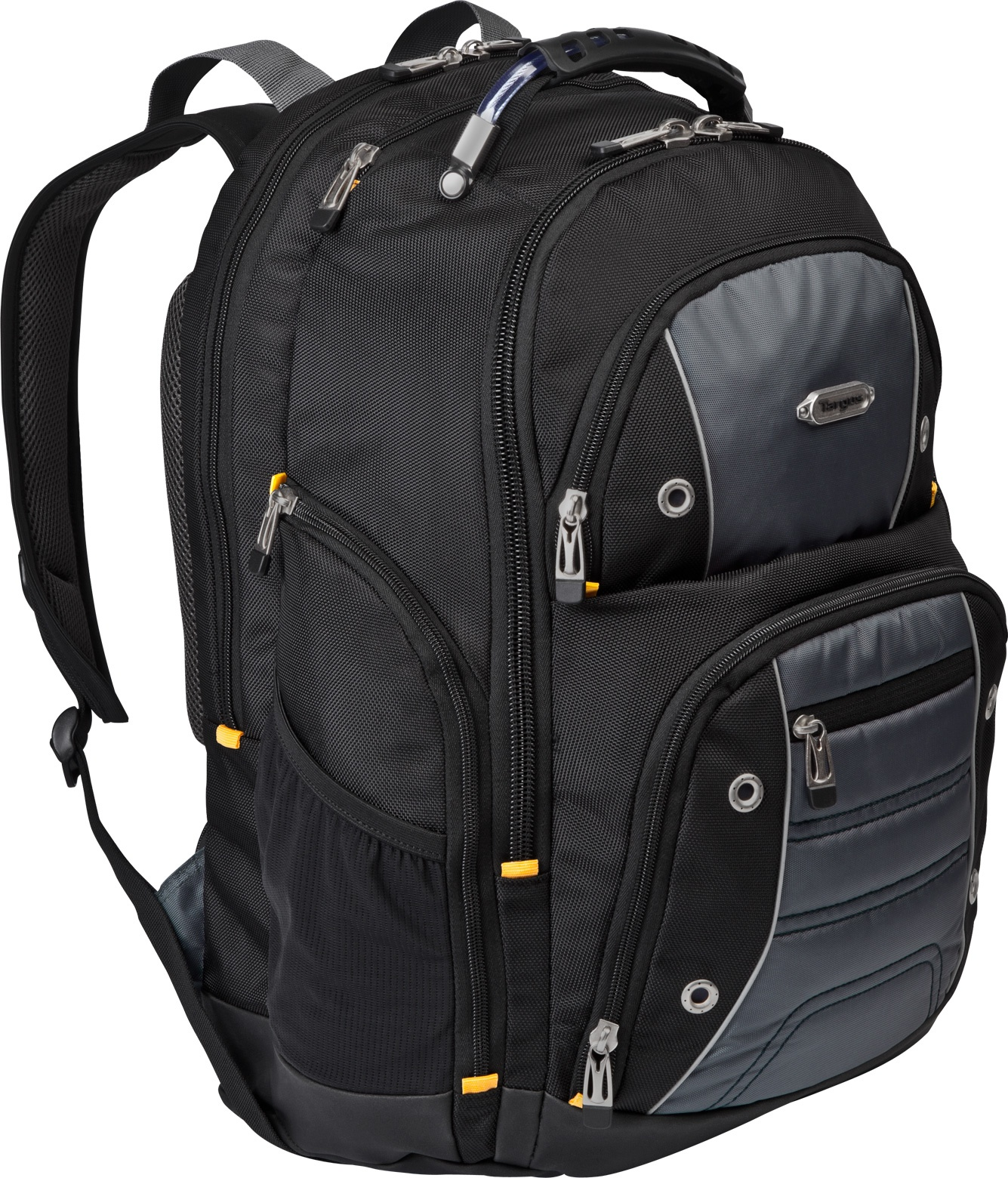 Targus Drifter II for Professional Business Commuter Backpack for 17-Inch Laptop, Black/Gray (TSB239US) by Targus