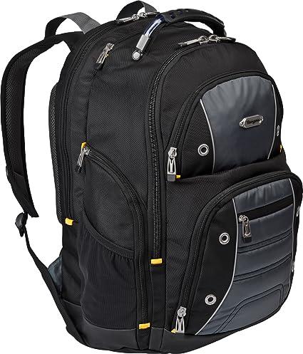1996e261638b Amazon.com: Targus Drifter II Backpack for 17-Inch Laptop, Black ...