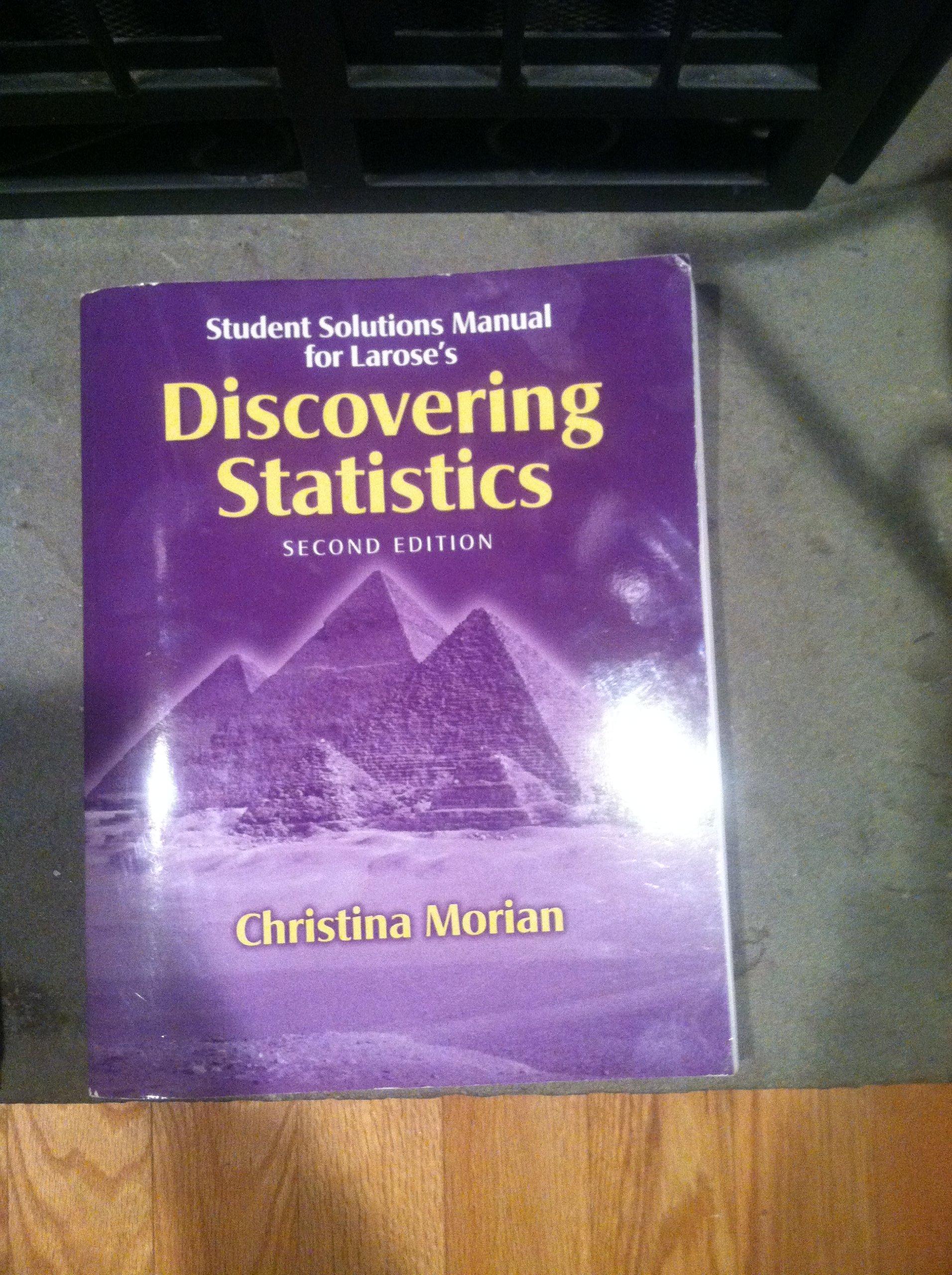 Discovering Statistics: Daniel T. Larose: 9781429279406: Amazon.com: Books