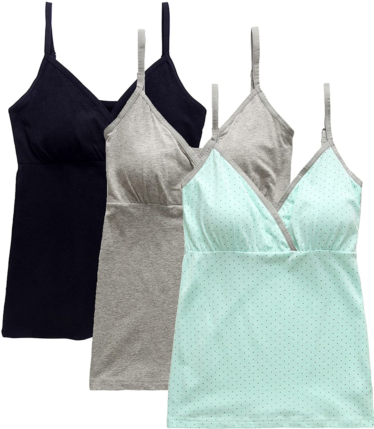 033870ac120ba5 ... Medium  Fits for Weight 130-155 lb  Large  Fits for Weight 150-170 lb) Nursing  Cami Suitable  0-5 MONTHS Pregnant And Postpartum Breast-Feeding