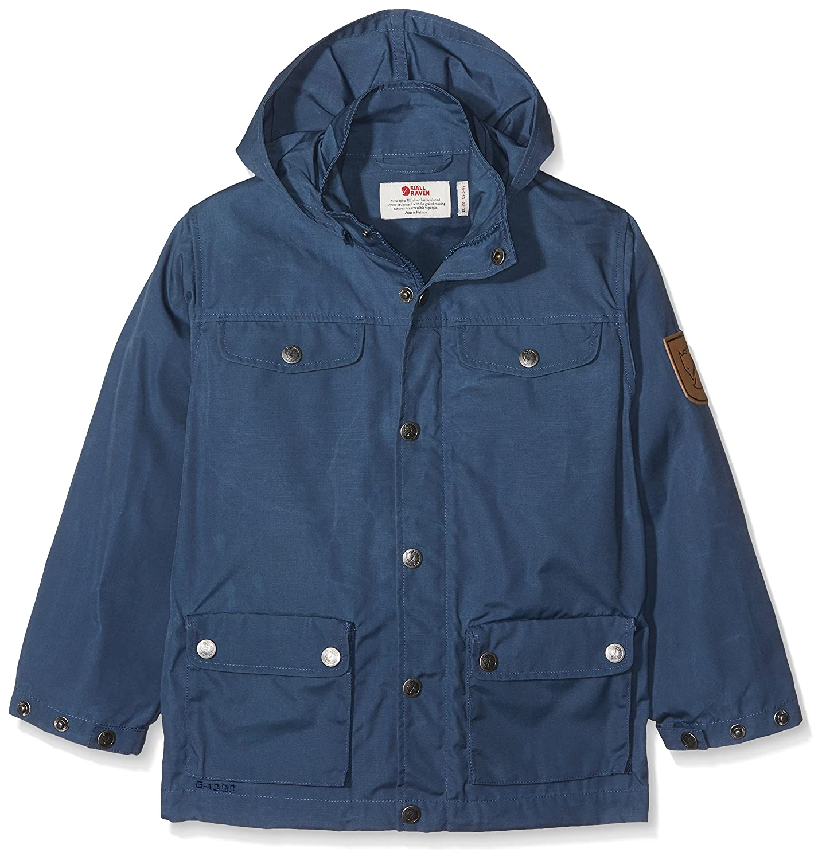 uk availability a5d1f 089c5 Amazon.com: Fjallraven Kid's Greenland Jacket, Uncle Blue ...