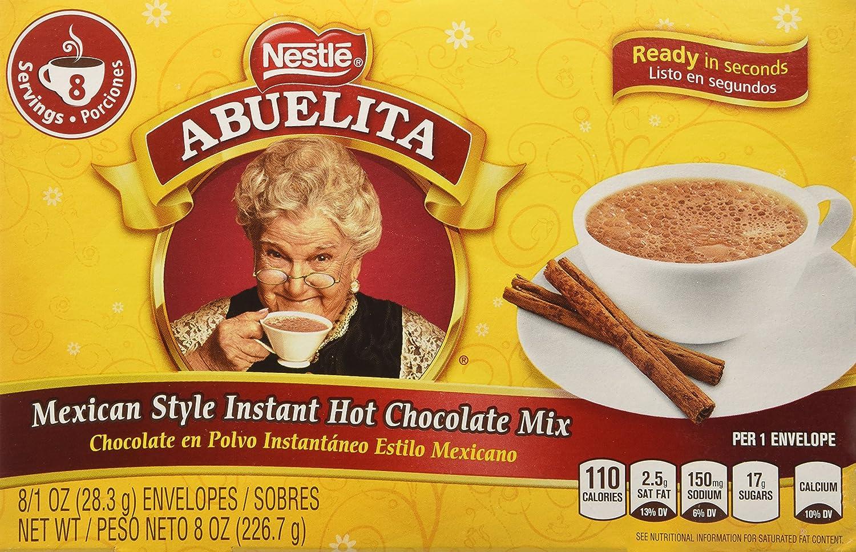 Amazon.com : Abuelita Mix Inst Hot Choc, 8/1 OZ, 2 pk : Grocery ...