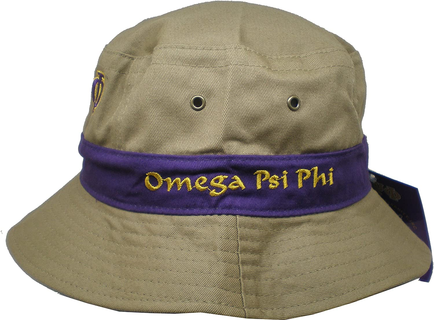 17ad8c09326 Cultural exchange omega psi phi fraternity mens floppy bucket hat khaki  clothing jpg 1500x1105 Omega psi