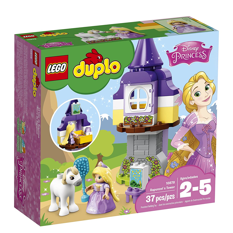 Lego Uk 10878 Duplo Disney Toy Rapunzels Tower Figure Rapunzel Tangled Toys Games
