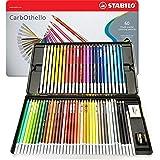 Stabilo CarbOthello Chalk-Pastel Colored Pencil 4.4 mm - 48-Color Set