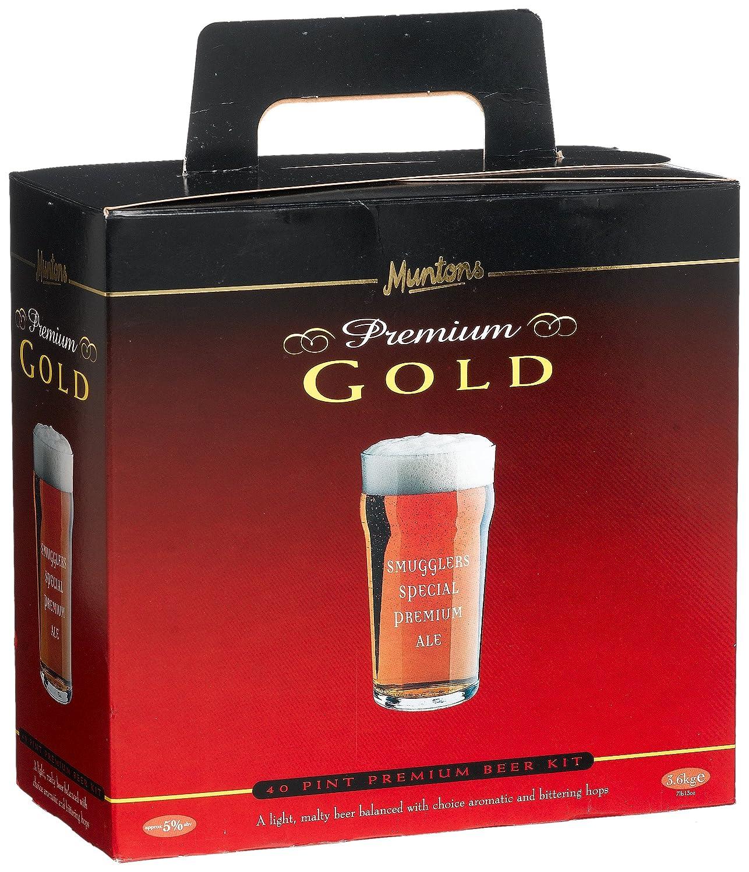 Premium Bier - ALE - 23 Liter Bier zum selber Brauen - Bier Kit