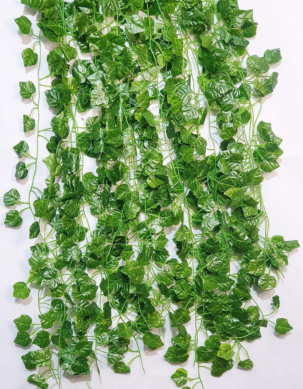 Premium Artificial Trailing Ivy Vine Leaf Garland Fern Greenery Plants Foliage