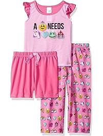 093e4aae19c The Children s Place Baby Girls  3-Piece Sleep Set