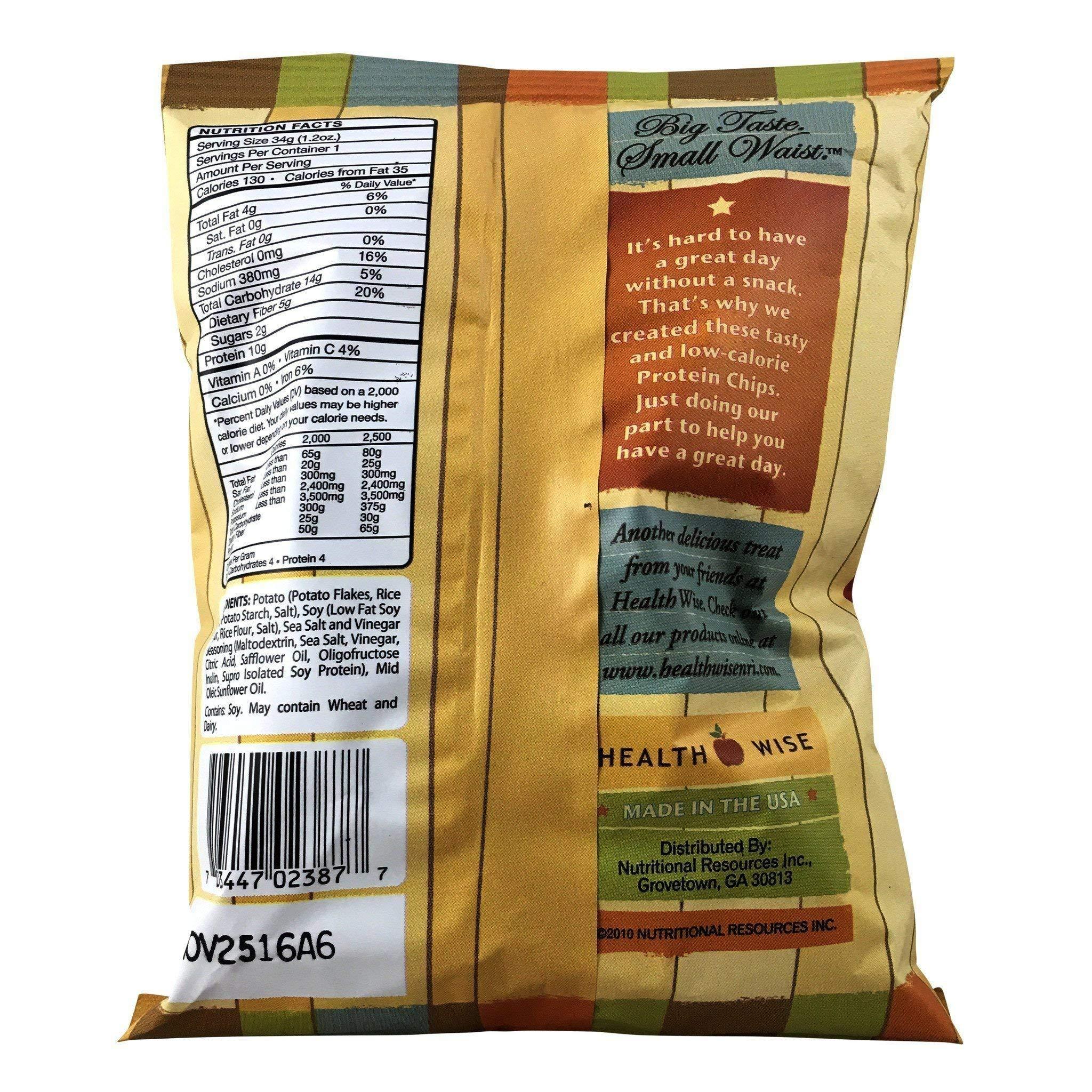 NutriWise - Sea Salt & Vinegar Potato Chips (80 Bags) by NutriWise (Image #2)