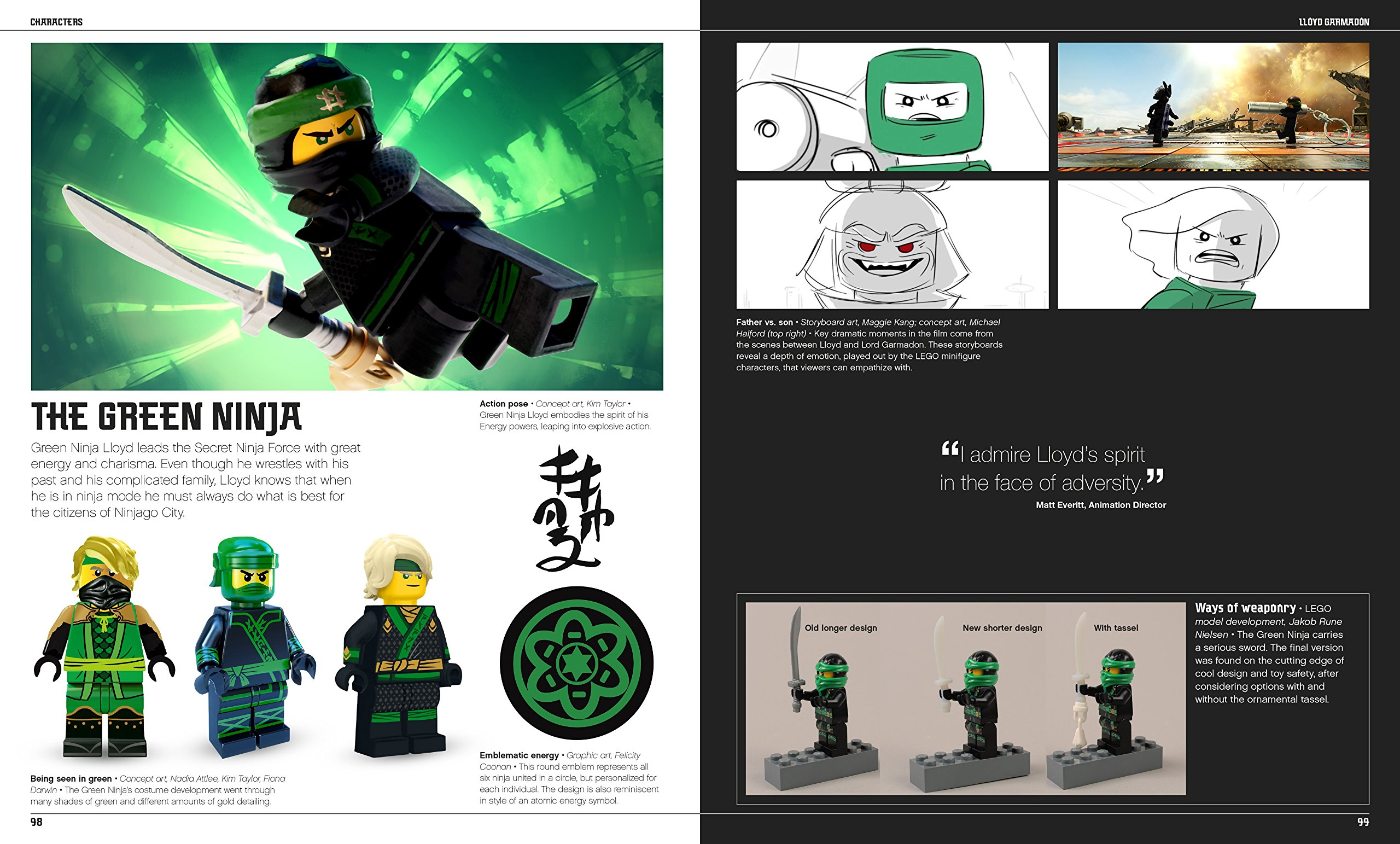 The LEGO® NINJAGO® MOVIE The Making of the Movie: Tracey