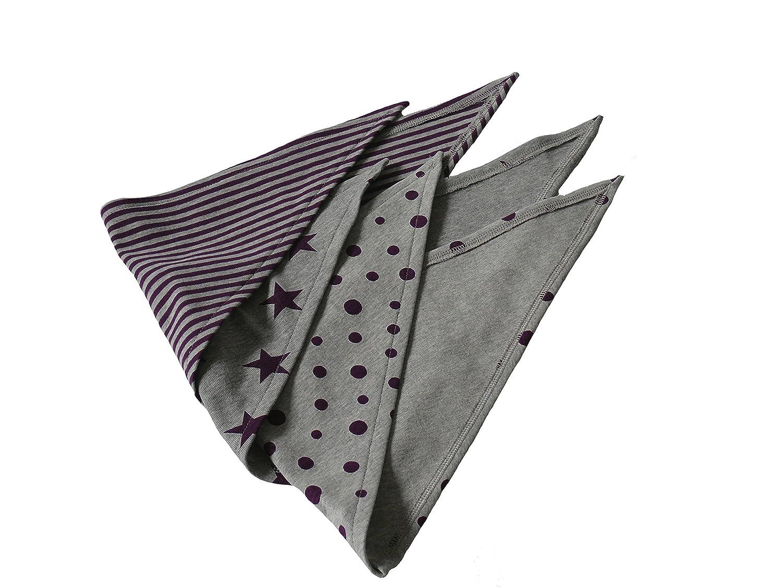 Fitzibiz 3er Set Dreieckst/ücher Baumwolle 54x22 cm
