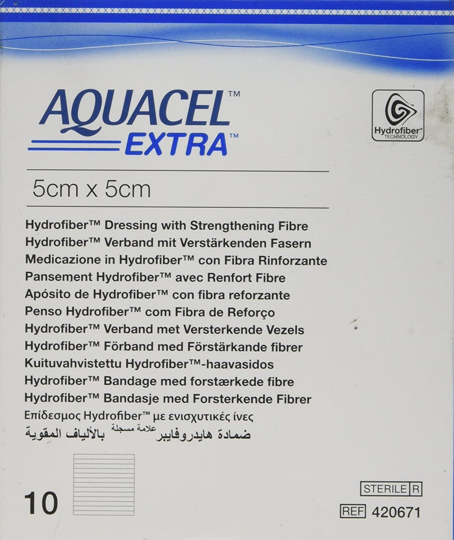 Convatec 3673282 Aquacel Extra Dressing 5 Width 5 Length Pack