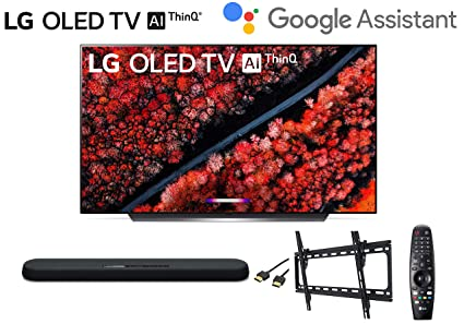 Amazon com: LG OLED55C9PUA 55 inch Class 4K Smart OLED TV w