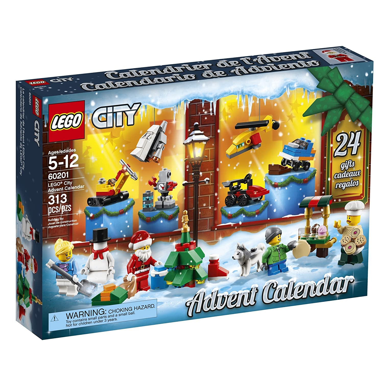 Lego City Toy Advent Calendar 2018