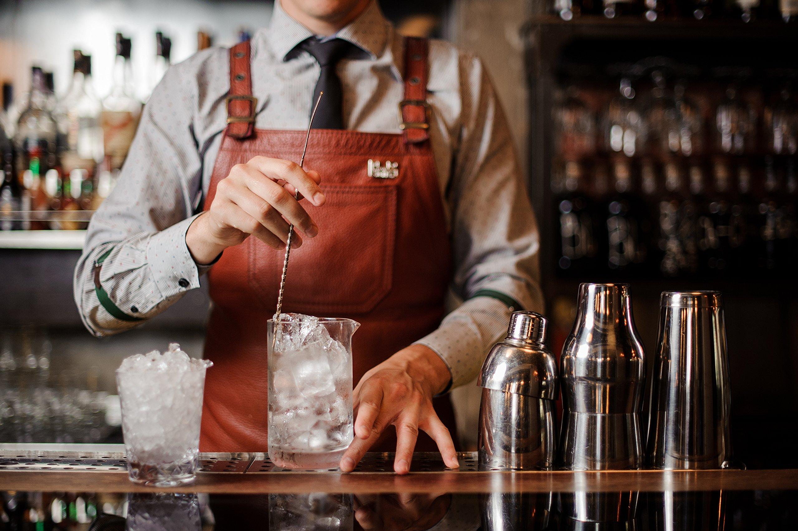 Extra Large Cocktail Mixing Glass - Seamless & Handblown - Plain Design - 700ml / 24oz (Extra Large Plain)