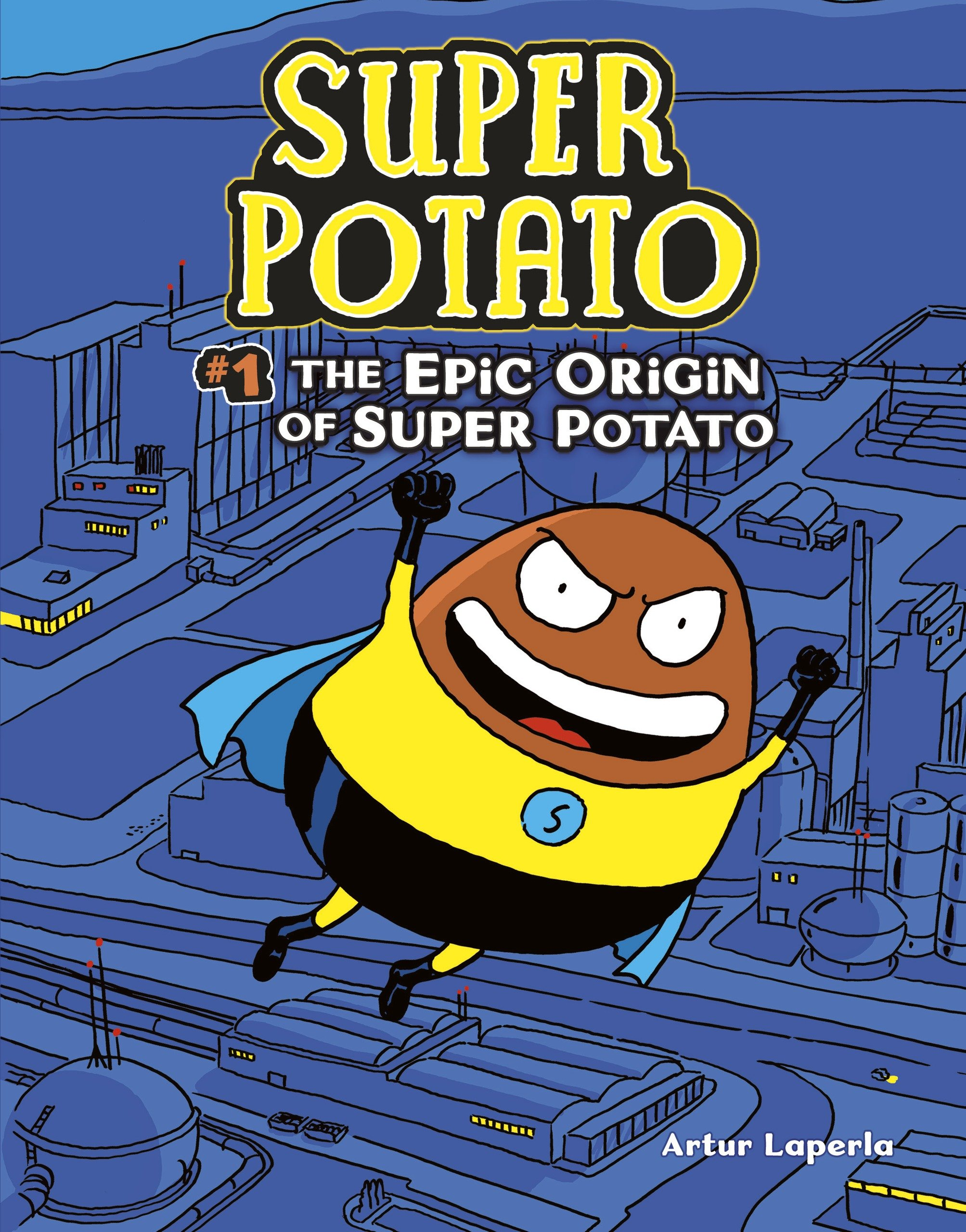 The Epic Origin Of Super Potato 1 Amazoncouk Artur
