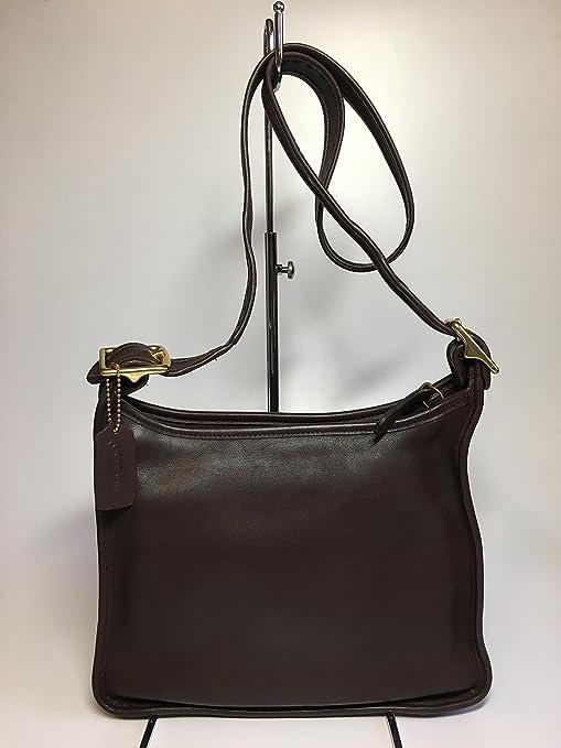 7de2e3f7dbbec Vintage Authentic COACH Legacy Zip Leather Handbag #9966 Crossbody Shoulder  Bag Adjustable Strap Made in USA: Amazon.ca: Luggage & Bags