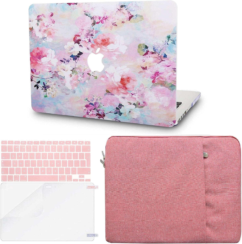 Protection d/écran Arbre Color/é Rigide Case w//EU Protection Clavier 2019//2018//2017//2016, Touch Bar KECC MacBook Pro 13 Coque Manche pour MacBook Pro 13.3 {A1989//A1706//A1708}