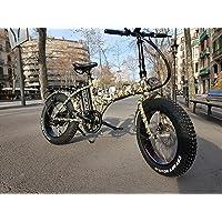 """MONSTER 20 - Le Vélo Électrique Pliant - Roues 20"""" - Moteur 500W, 48V-12ah - Display LCD 9 niveaux d'aide - Châssis: Aluminium - Pour faire rouler sur la neige ou le sable"""