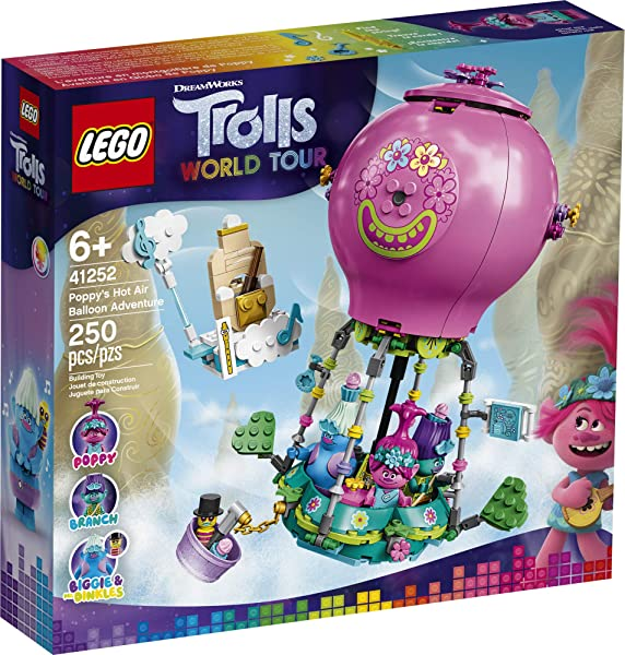 LEGO Trolls World Tour Poppy's Hot Air Balloon Adventure