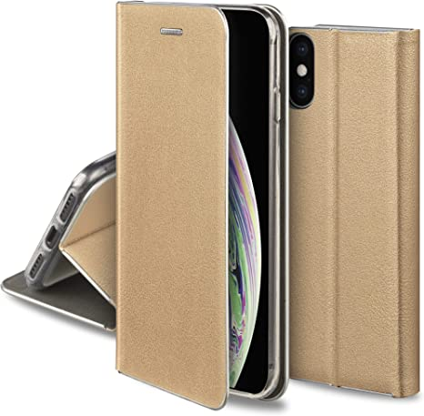 Custodia a portafoglio per smartphone con bordi protettivi iPhone