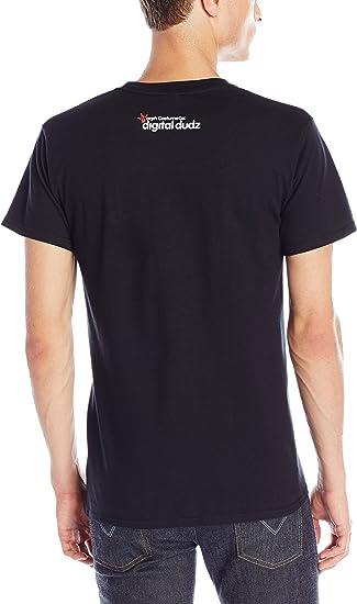 Digital Dudz Frantic MOVING EYEBALLS T-SHIRT X Large size Black