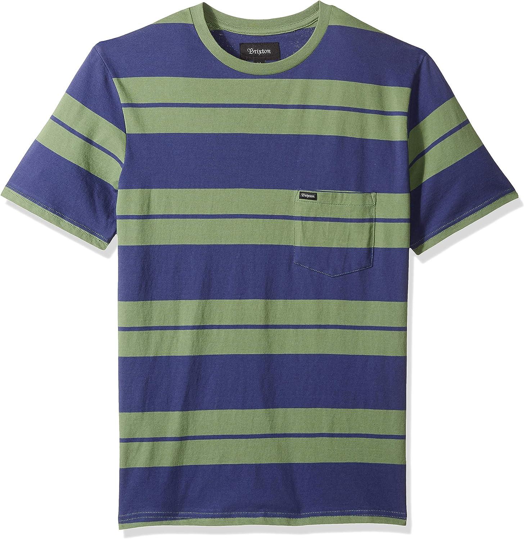 BRIXTON Hilt S/S Pkt Knit Camisa para Hombre: Amazon.es: Ropa y accesorios