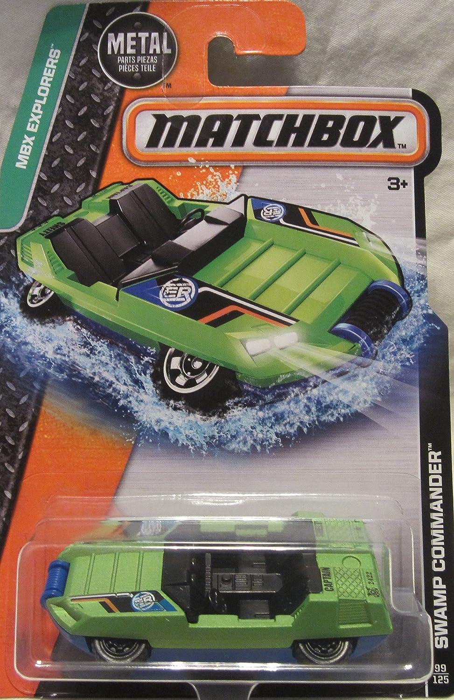 2016 MBX Explorers Swamp Commander Matchbox Hydro Car 99//125 B01D25284K