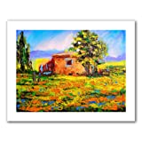Art Wall 'Prarie Palace' by Susi Franco Unwrapped