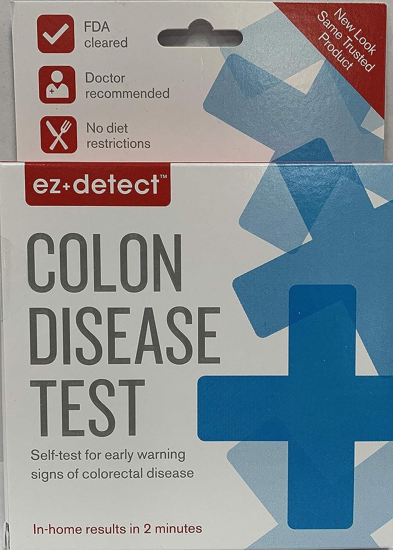 EZ Detect Colon Disease Test Kit - 5 Count (Pack of 2)