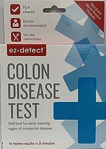 EZ Detect Colon Disease Test Kit - 5 Test Pads, Pack of 3